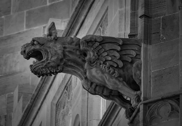 Gargoyle animal design
