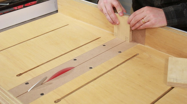 Crosscut sled sample