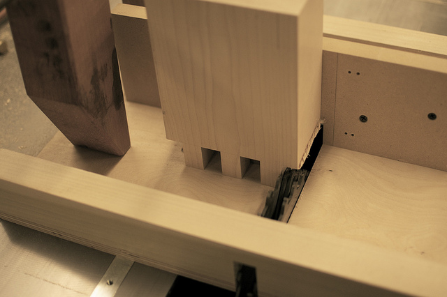set and crosscut sled