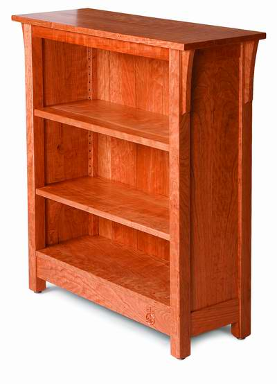 Fine Woodworking Arts and Crafts Bookcase