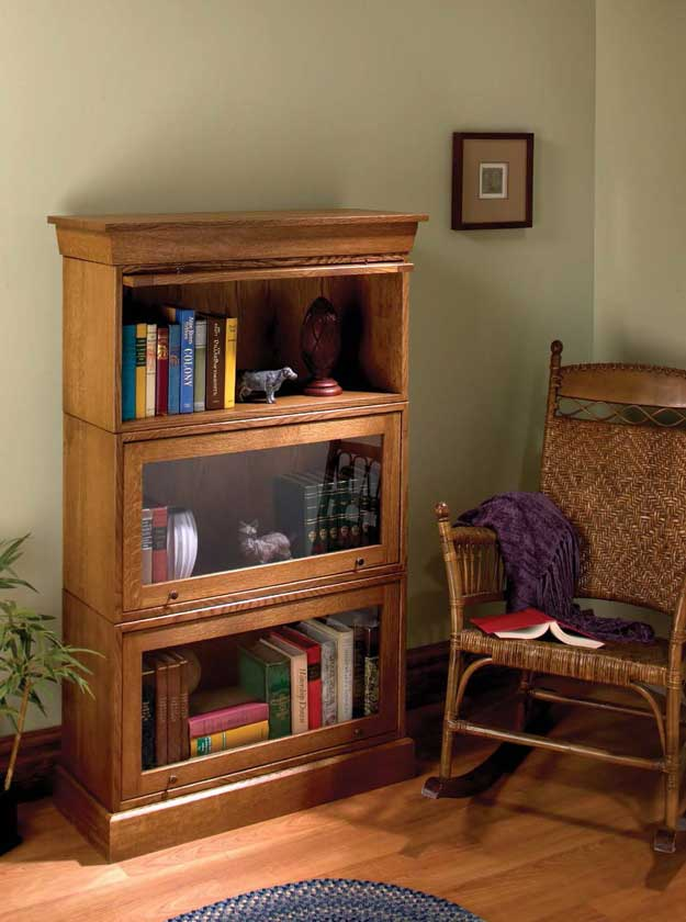 Simple Barrister Bookcases
