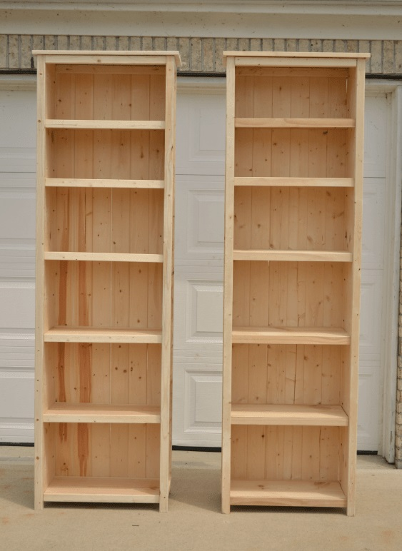 Infarrently Creative 7 Foot Tall Bookcases