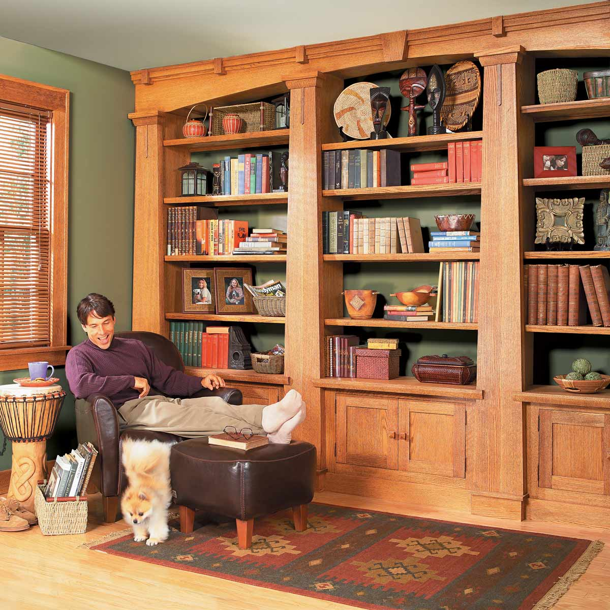 The Family Handyman Craftsman-Style Bookcase