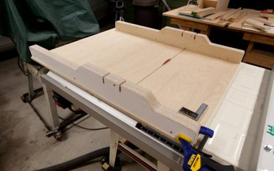 Crosscut Sled With Adjustable Stop Block – Safety Tips
